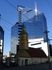 Gegensätze in der Neuen Innenstadt